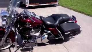 6. 2008 Harley Davidson Road King Classic FLHRC