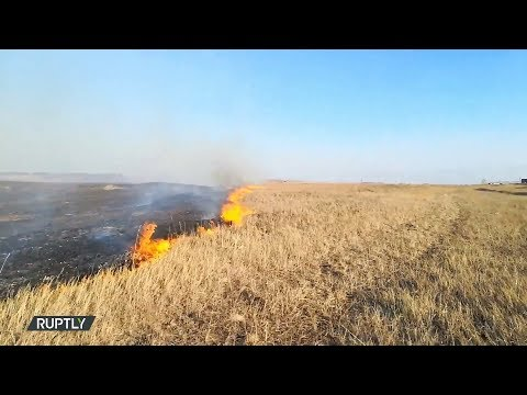 روسيا :قرابة 300 شخص فقدوا منازلهم بسبب الحرائق في منطقة زابايكال