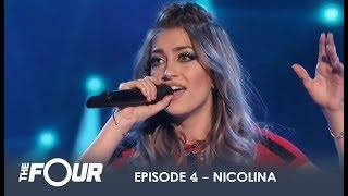 Video Nicolina: Singer & Model From Florida Thinks She Has What It Takes! | S1E4 | The Four MP3, 3GP, MP4, WEBM, AVI, FLV Desember 2018