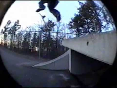 old Mashpee skatepark footage Ross J
