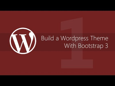 Make a WordPress theme with Bootstrap 3 – Tutorial #1