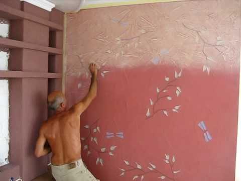 Как сделать краски дома видео