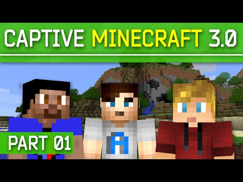 Minecraft Captive Minecraft 3.0 Rise of Atlantis #1 with Vikkstar, Ali A & CraftBattleDuty