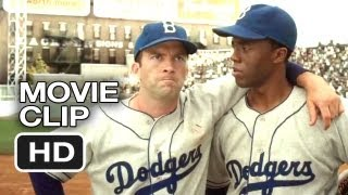 Nonton 42 Movie Clip   All Wear 42  2013    Jackie Robinson Movie Hd Film Subtitle Indonesia Streaming Movie Download