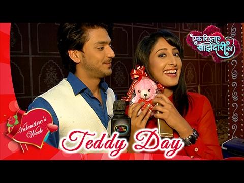 Aryan's TEDDY DAY Surprise For Sanchi   Valentine'