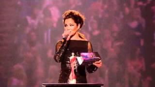 Rihanna wins International Female Solo Artist presented by Cheryl Cole | BRIT Awards 2011