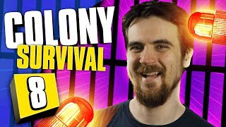LOCKDOWN AT BERRY JAIL | Colony Survival #8