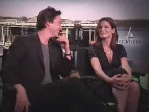 """Sandra Bullock & Keanu Reeves about making a movie """"The Lake House"""""""