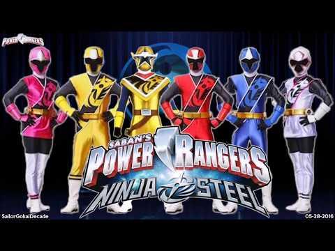 Power Ranger Ninja Steel Theme (The FestEvil Extended Test) (видео)