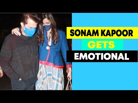 Sonam Kapoor gets emotional as she meets her father Anil Kapoor after almost a year