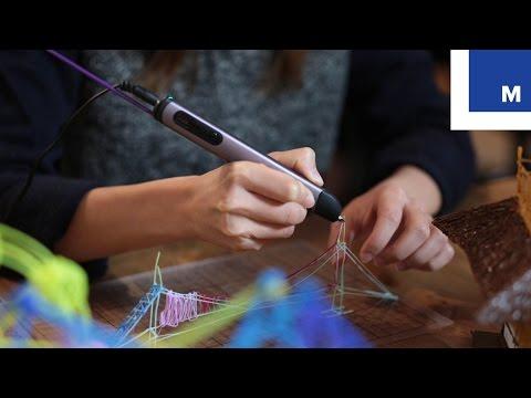 3D-ручка малює в повітрі (відео)