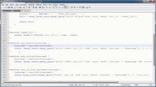 PHP Tutorials: Register&Login (Part 10): Registration Form And Validation (Part 4)