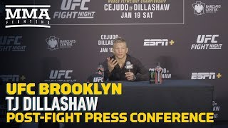 Nonton Ufc Brooklyn  T J  Dillashaw Post Fight Press Conference   Mma Fighting Film Subtitle Indonesia Streaming Movie Download