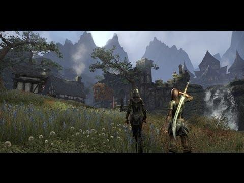 The Elder Scrolls Online OBT #2 - Демонстрация мира, социалки, геймплей с Дашей