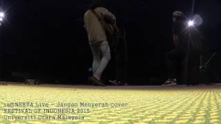 iamNeeta Live Universiti Utara Malaysia - Jangan Menyerah D' Masiv  Cover