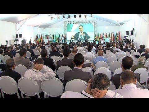 السيد اعمارة يبحث مع نظرائه الأفارقة المشاركين في المؤتمر الوطني العاشر للطرق سبل تعزيز التعاون  في المجال الطرقي