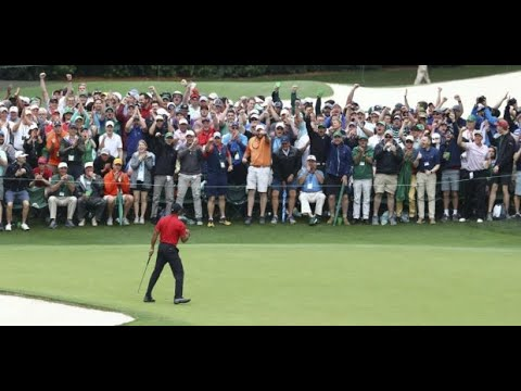 A magical day for both Tiger Woods and golf at the Masters