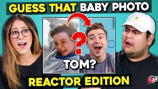 Video Can YOU Guess That Reactor's Baby Photo? | FBE Staff React MP3, 3GP, MP4, WEBM, AVI, FLV Agustus 2019