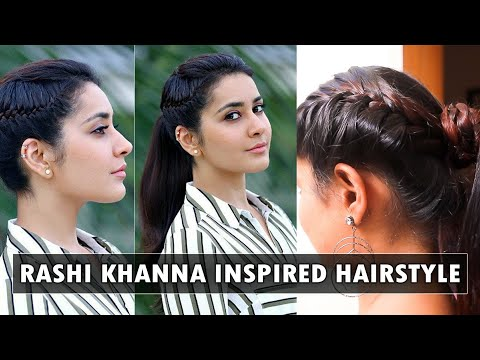 How to do Rashi Khanna's hairstyle #Imaikkanodigal |SaySwag