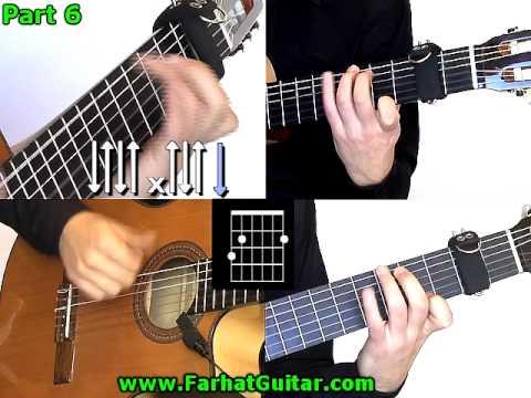Bamboleo - Gipsy Kings Guitar Cover  Part 6 www.FarhatGuitar.com