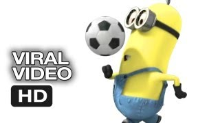 Despicable Me 2 Minion Moments - Soccer (2013) - Steve Carell Movie HD