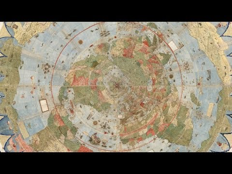 Scoperta una mappa antica che rivela luoghi nascosti della terra
