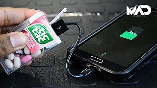 Tic-Tac charger (Life hack) Subscribe to my channel - http://bit.ly/1ODLIwG  if you like Life hacks, How to projects, homemade geeky gadgets and a whole lot of random stuff! Follow me on social media: http://twitter.com/MadScienceHackshttp://facebook.com/madsciencehacksMad Science Hacks  Life hacks & how to projectsMusic - - RetroVision - Puzzle [NCS Release]RetroVision• https://www.facebook.com/retrovisionm...• https://twitter.com/RetroVisionFR• https://www.youtube.com/user/TH3D4RKR4C3• https://soundcloud.com/retro_visionListen here - https://youtu.be/TN_8D-79BZg
