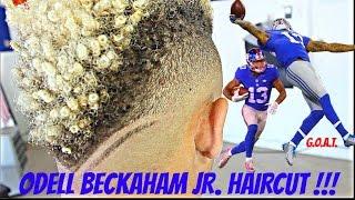 Odell Beckham Hair Back V