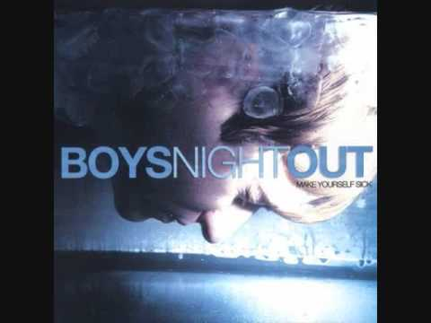 boys night out hold on tightly, let go lightly