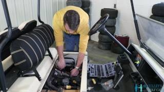 6. How to Change the Fuel and Air Filters on a Club Car DS 2004 - McCulley's Golf Cars