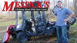 4. Messick's Review of the Kubota RTV X1100 Utility Vehicle