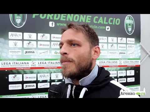 Pordenone-Arezzo 1-0 / Intervista a Gambadori