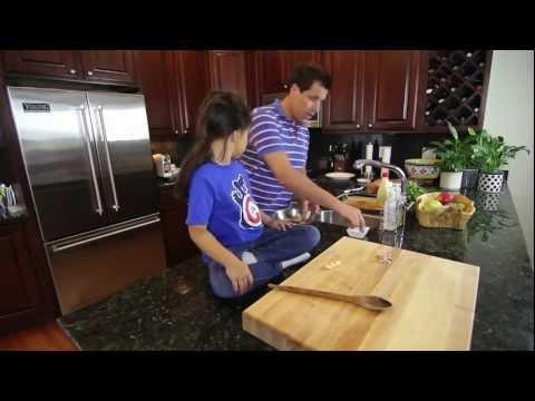 Grilled shrimp with Lemon garlic sauce – Chef Jon Ashton with Little Mei