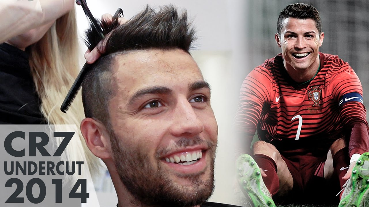 Songs In Hairstyle Like Cristiano Ronaldo CR Slikhaar TV - Cr7 hairstyle wallpaper