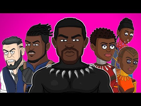 Black Panther The Musical - Animated Parody Song