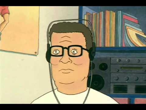 Hank Hill listens to Lil B- \