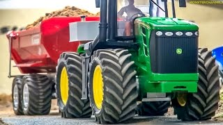 Video RC tractor John Deere 9530 in ACTION at the  construction site! MP3, 3GP, MP4, WEBM, AVI, FLV November 2017