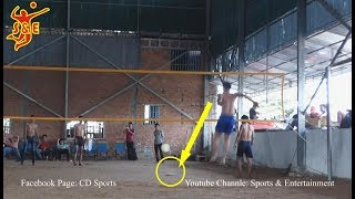 Video ទាបតែលោតកប់មេឃ Very High Jump Cambodia volleyball player || 10 Nov 2018 MP3, 3GP, MP4, WEBM, AVI, FLV November 2018