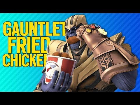 GAUNTLET FRIED CHICKEN | Fortnite
