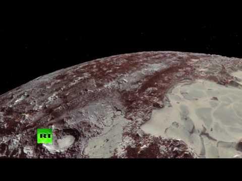 NASA опубликовало видео облёта Плутона зондом New Horizons