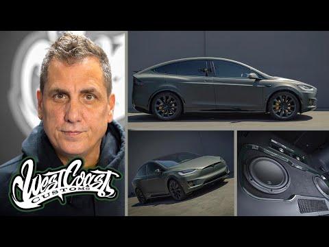Mike Dean's Custom Model X   West Coast Customs