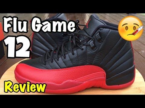 """Air Jordan 12 Retro """"Flu Game"""" """"Bred"""" Review"""