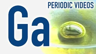 Gallium (beating heart) - Periodic Table of Videos