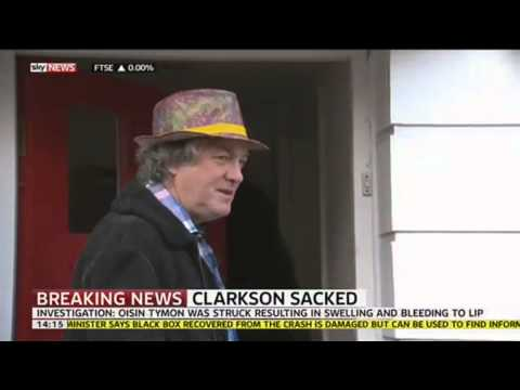 Top Gear's James May Reacts To Jeremy Clarkson Being Sacked By BBC