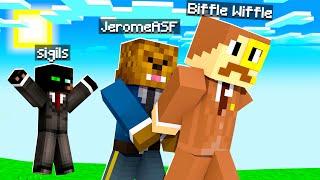I Am Arresting My Friend In Camp Minecraft | JeromeASF