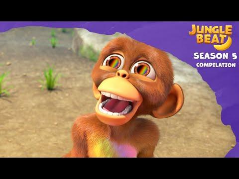 Jungle Beat Season 5 Compilation #1