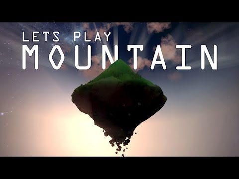 Let's Play MOUNTAIN - A Game by David O'Reilly (видео)