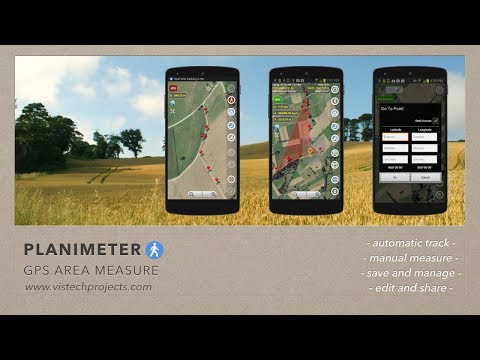 Video of Planimeter - GPS area measure