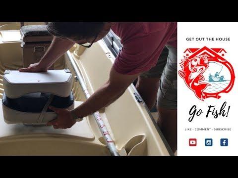 360 swivel on Sun Dolphin American 12 Jon Boat (Wise Economy Seat)
