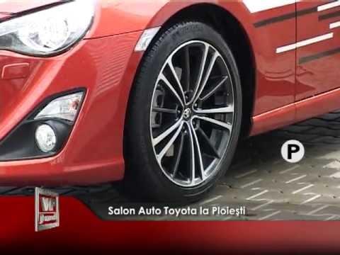 Salon Auto Toyota la Ploiești